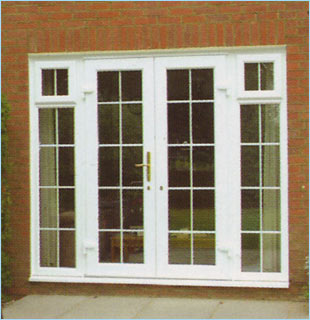 French doors gavin wright windows and doors for Upvc french doors glasgow